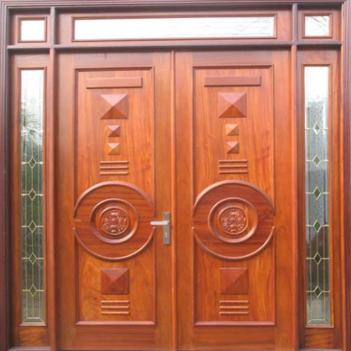 cửa gỗ tự nhiên 4 cánh
